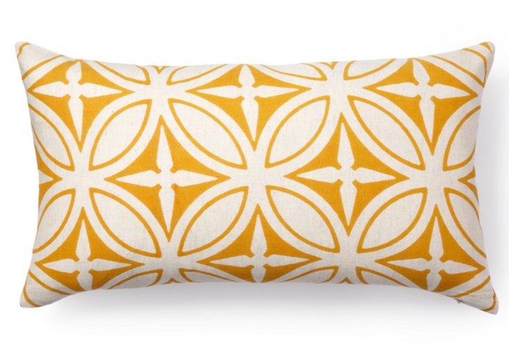 Agra 12x22 Pillow, Orange