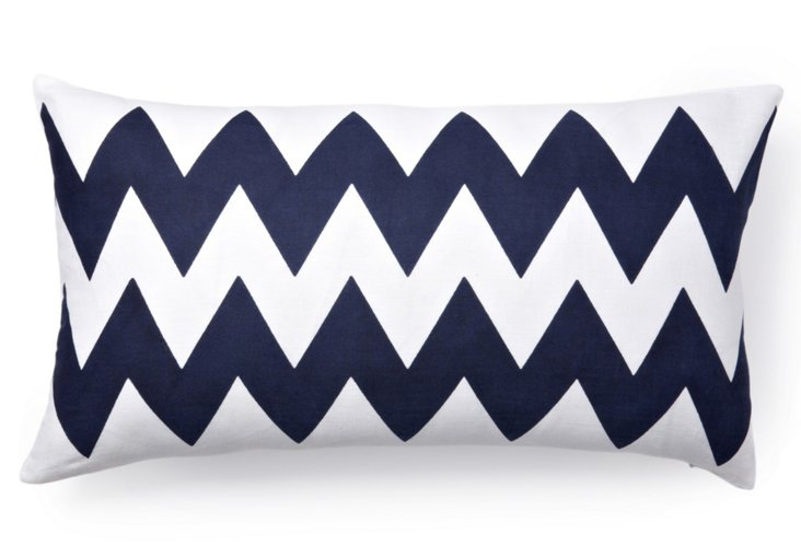 Altai 12x22 Pillow, Navy