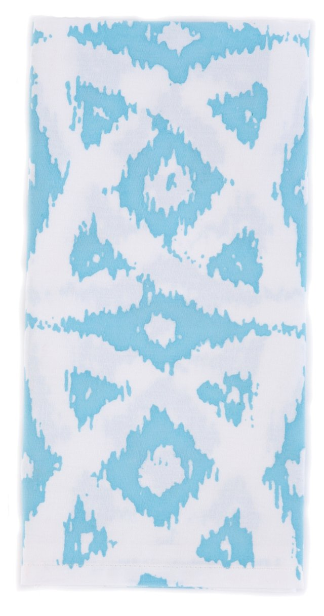S/4 Celtic Napkins, Aqua