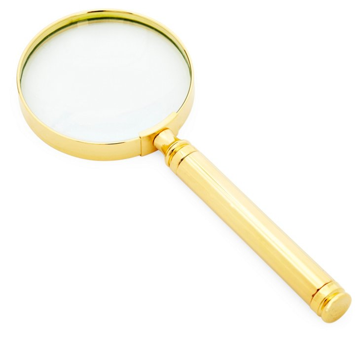 23K Gold-Plated Magnifier