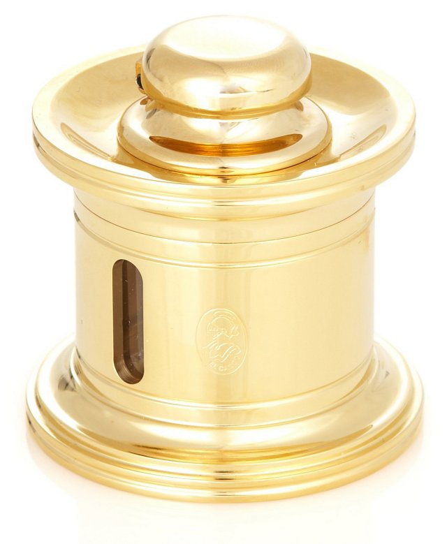 23K Gold-Plated Ink Pot