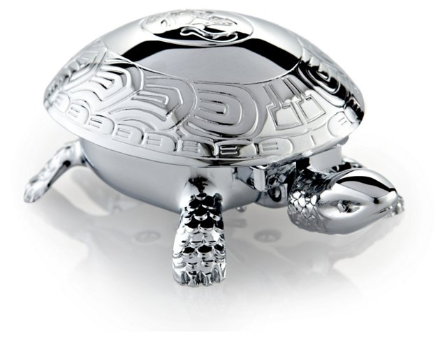 Chrome-Plated Turtle Bell