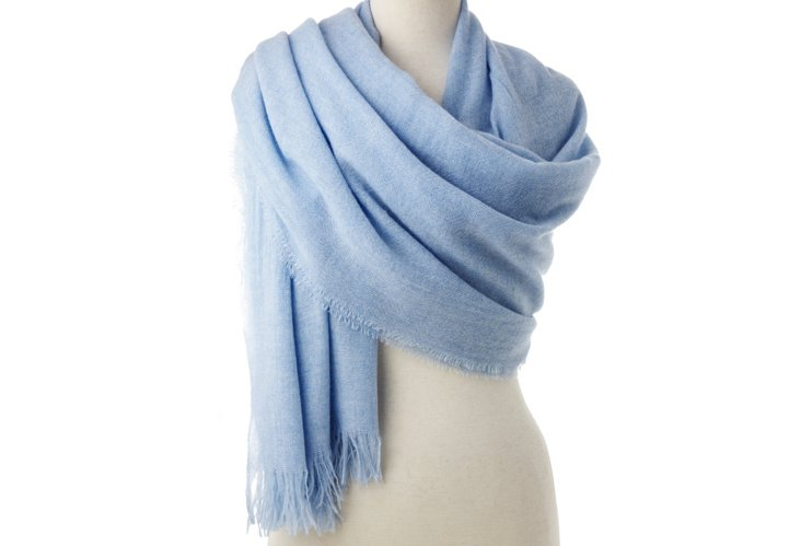 Featherweight Wrap, Light Blue