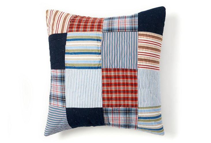 Hampton 16 x 16 Pillow, Multi