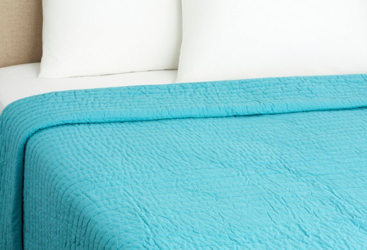 Base Camp Quilt, Teal