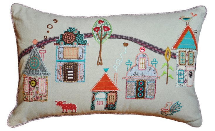 Farmyard 12 x 20 Pillow