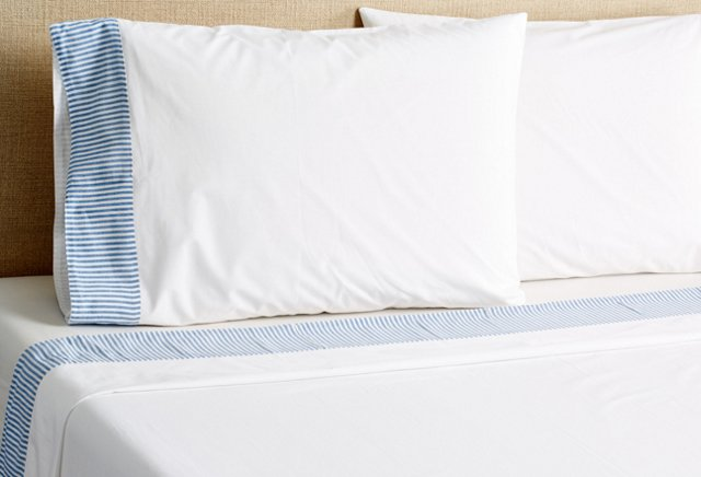 Blue Stripe Sheet Set