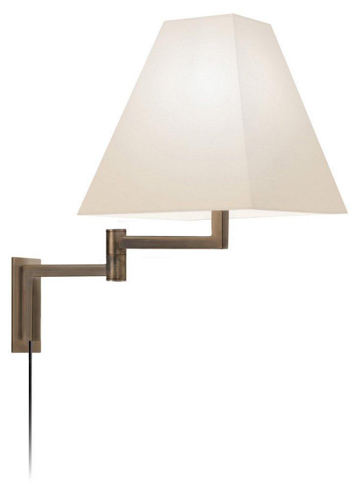 Cole Swing-Arm Sconce, Europa Bronze