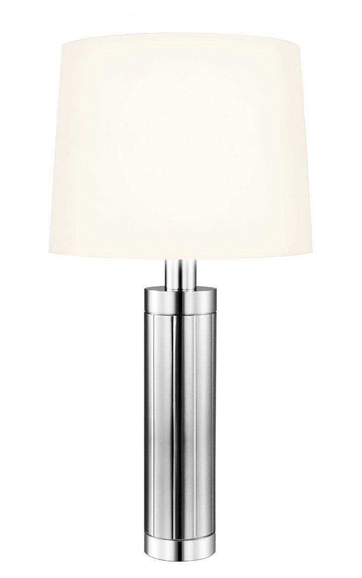 Pomone Table Lamp, Polished Nickel