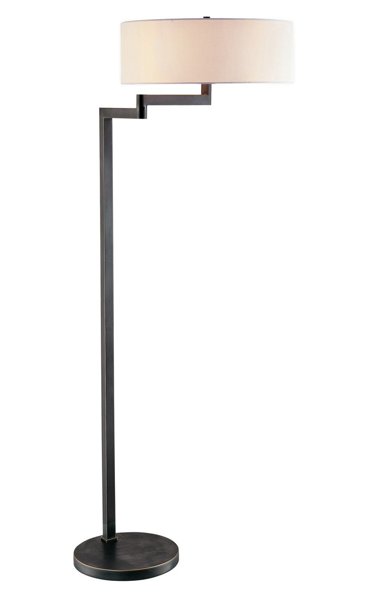 Osso Floor Lamp, Black