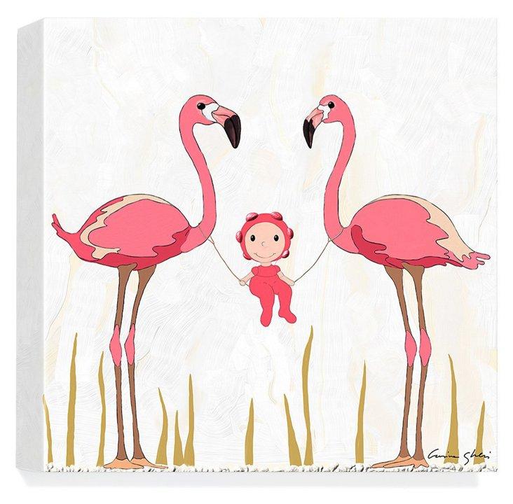 The Magic World of Uti, Flamingos