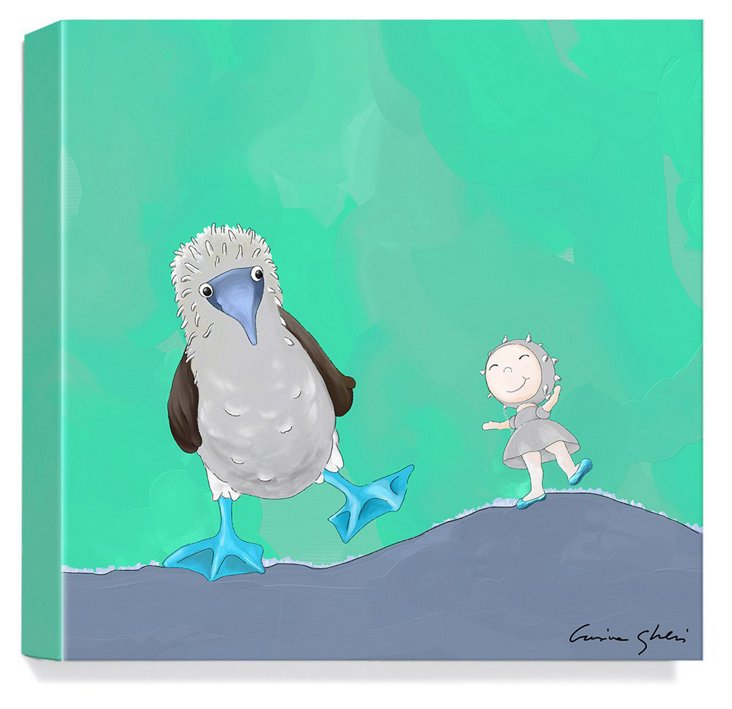 Magic World of Uti, Blue-Footed Booby