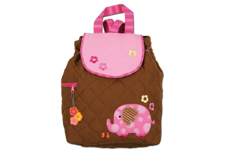 Quilted Backpack Elephant