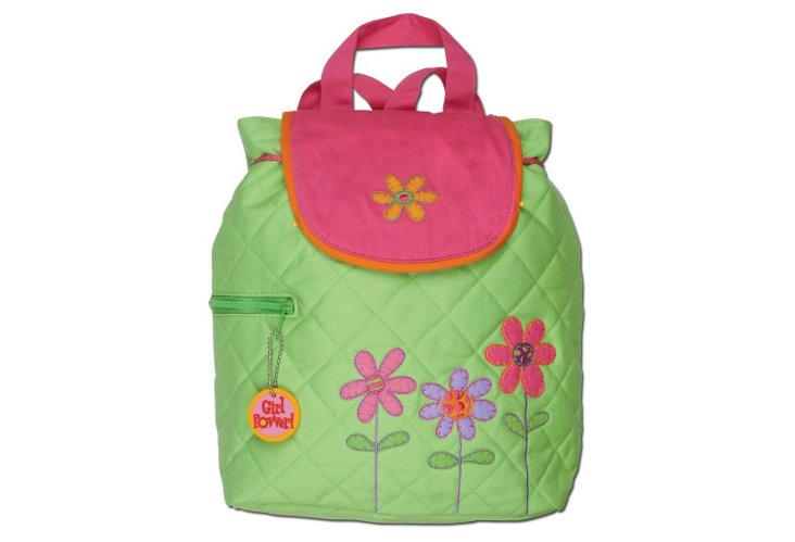 Quilted Backpack Flower