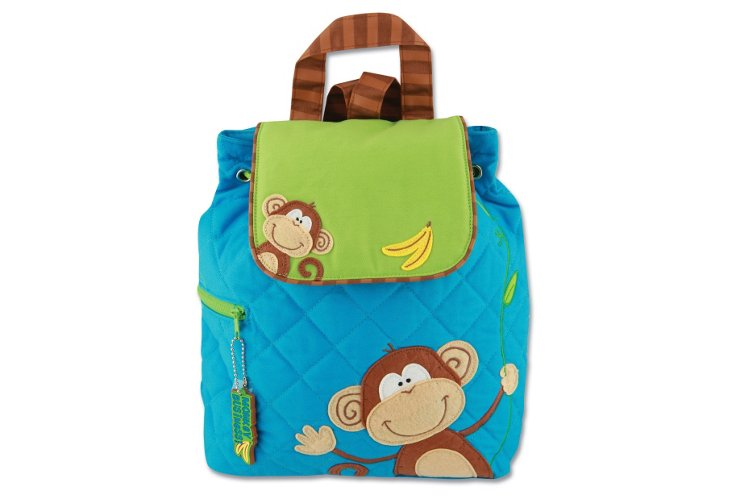 Quilted Backpack Monkey
