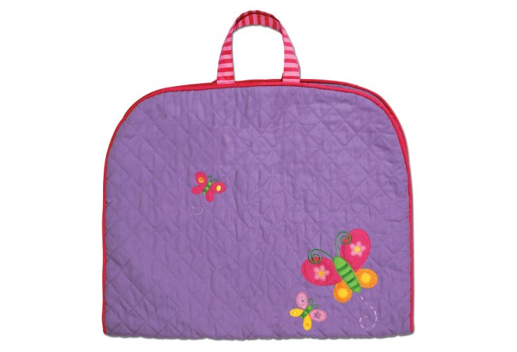Quilted Garment Bag Butterfly