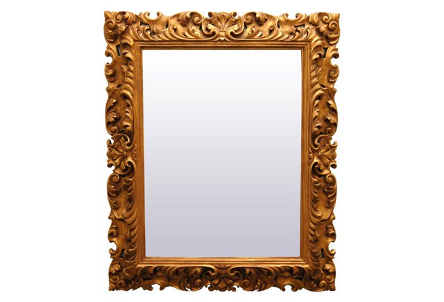 Spanish Carved Mirror