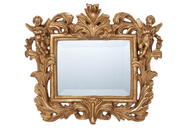 Baroque Framed Mirror