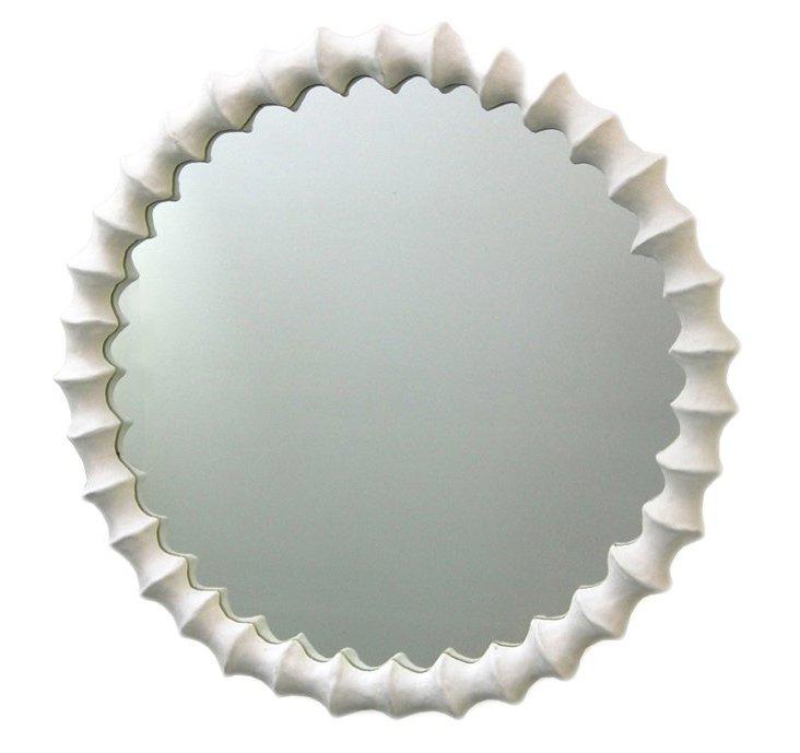 Knuckle Mirror, White