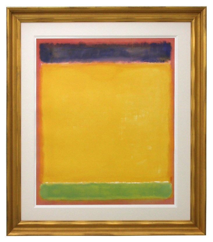 Rothko, Untitled (Blue Yellow Green)