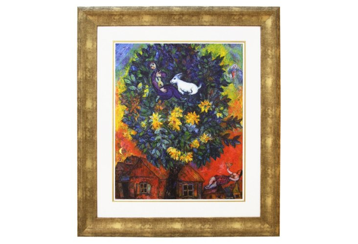 Chagall, Autumn In The Village DNU