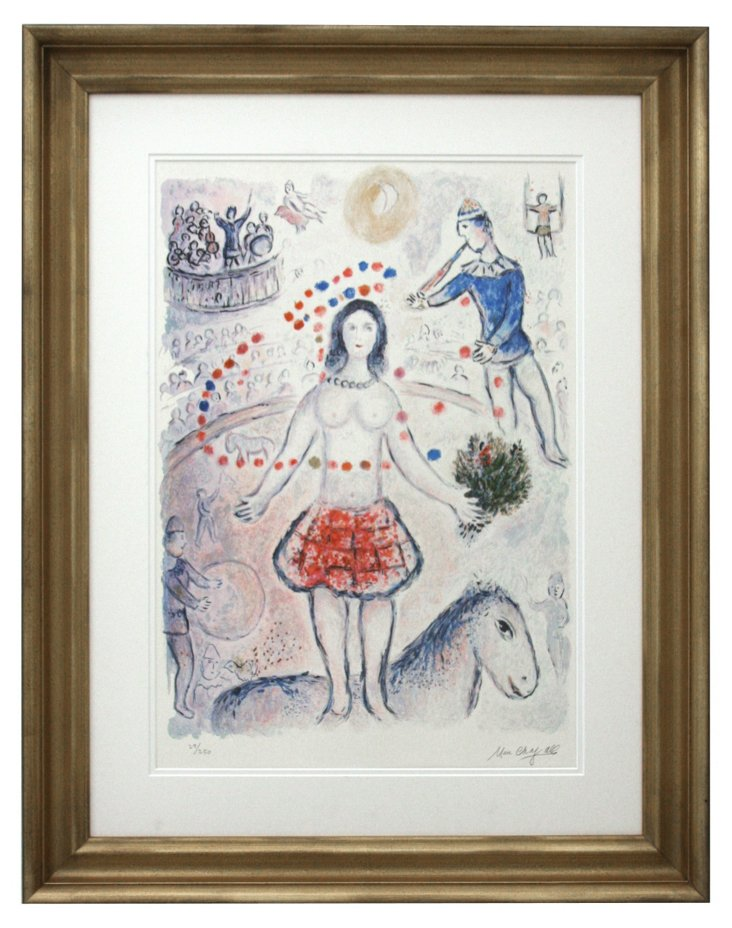 Marc Chagall, Circus DNU
