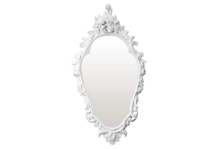 Looking-Glass Mirror, White