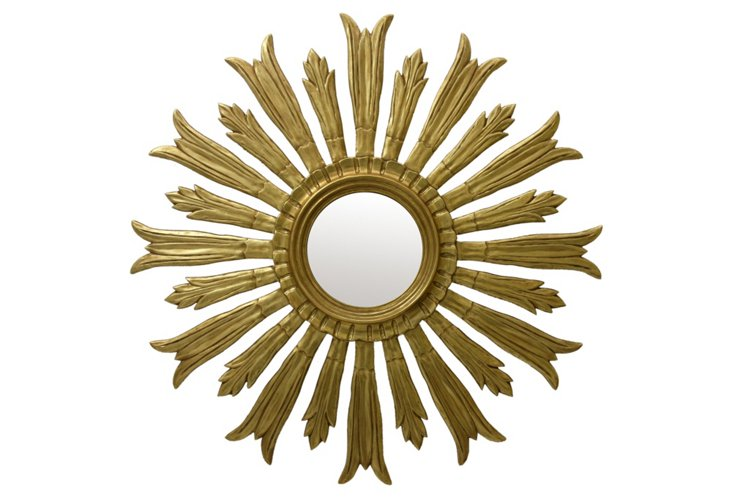 Gloria Mirror, Gold