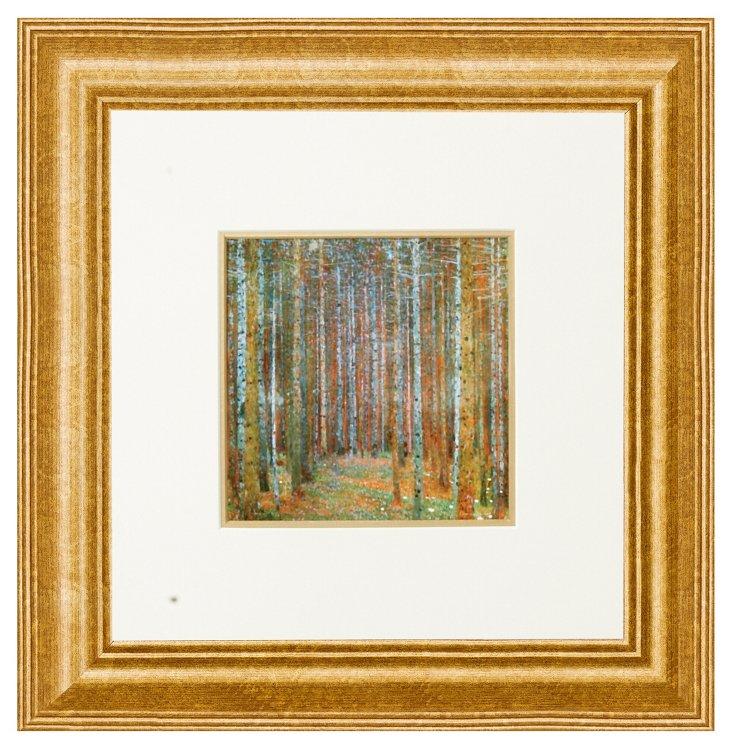 Gustav Klimt, Tannenwald