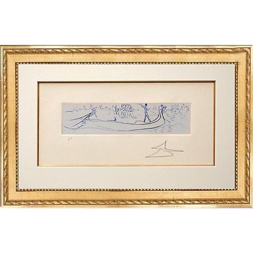 Salvador Dalí, Visions of Venice