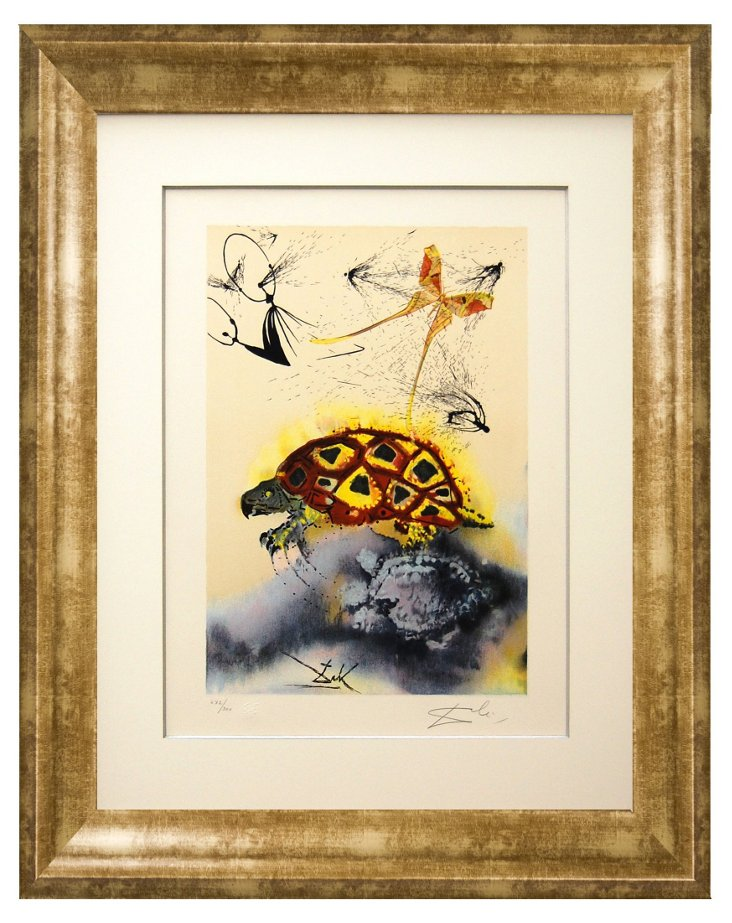 Dalí, The Mock Turtle's Story