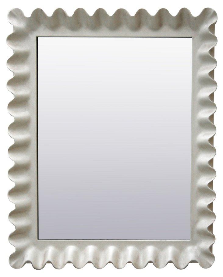 Stettheimer Mirror, White