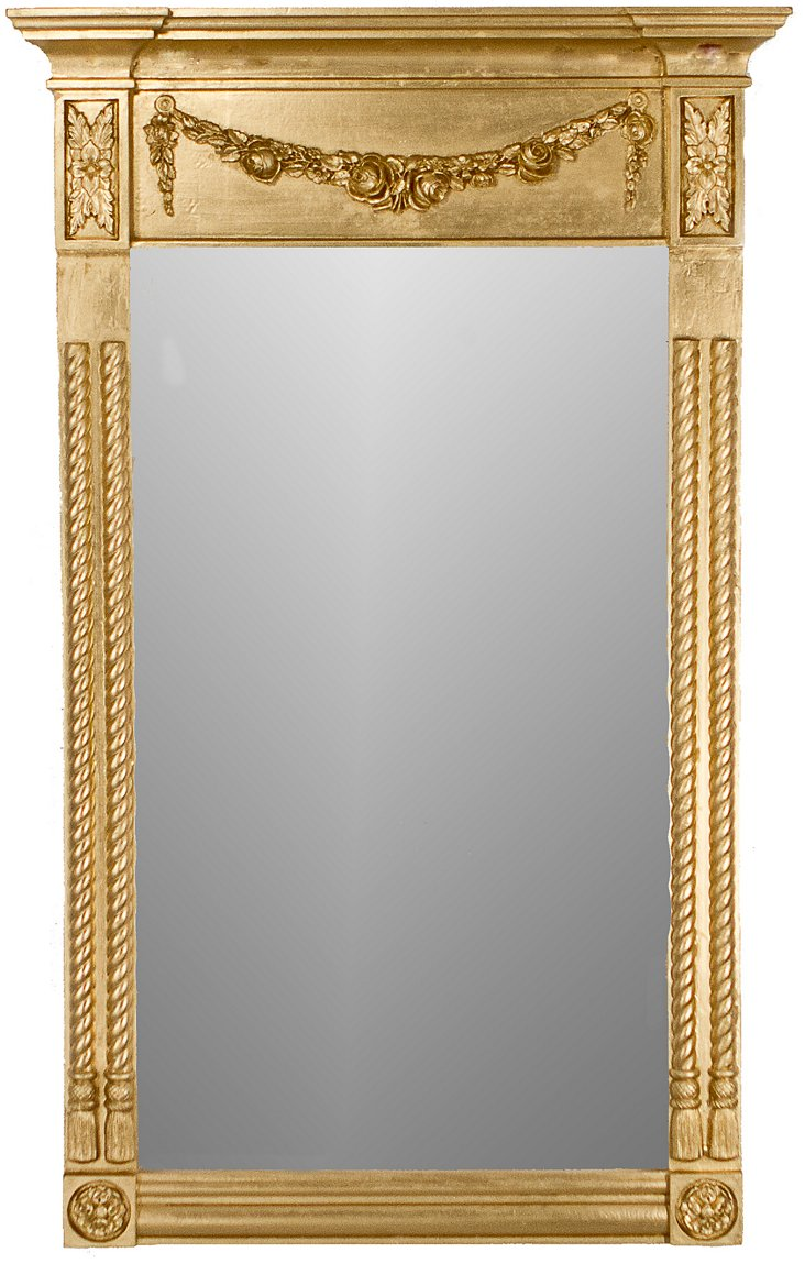 Small Federal Mantel, Gold