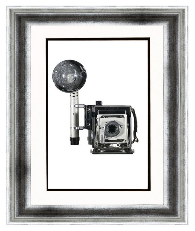 Weegee, Speed Graphic Camera