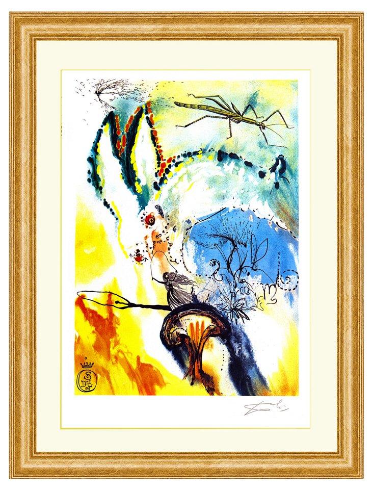 Salvador Dalí, Down the Rabbit Hole