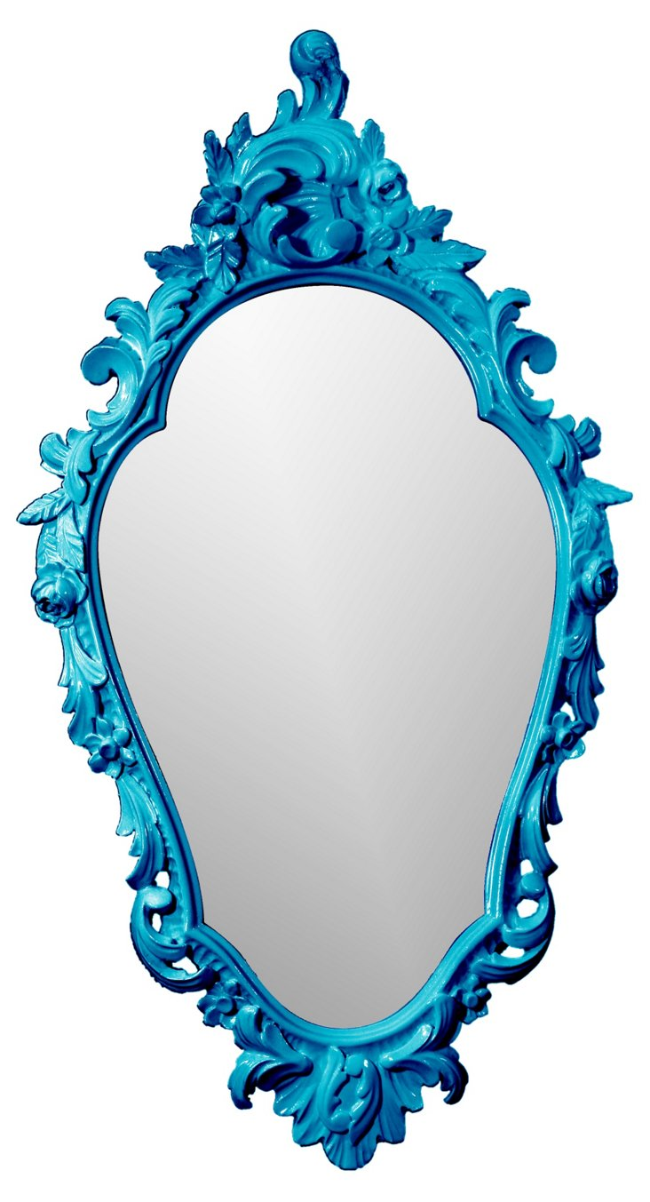 Looking-Glass Mirror, Loyal Blue