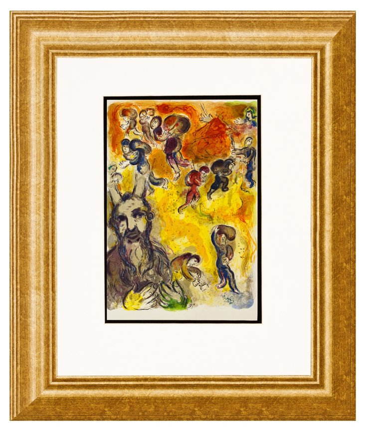 Chagall, Moses Sees the Suffering DNU