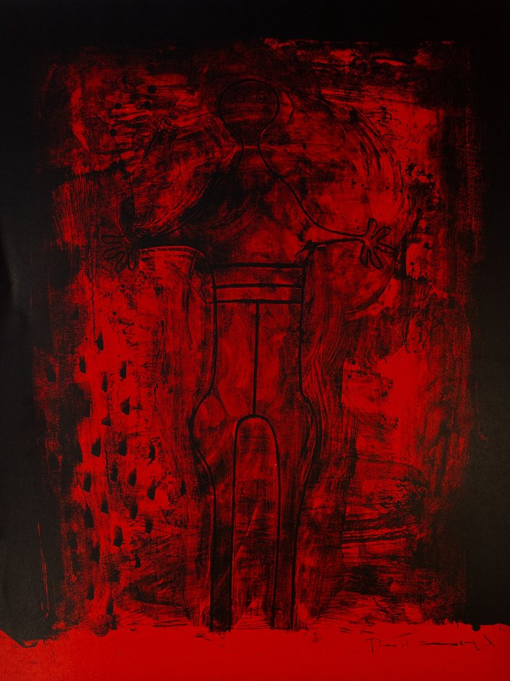 Rufino Tamayo, Red Man