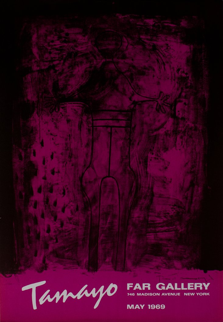 Rufino Tamayo, Tamayo Far Gallery 1969