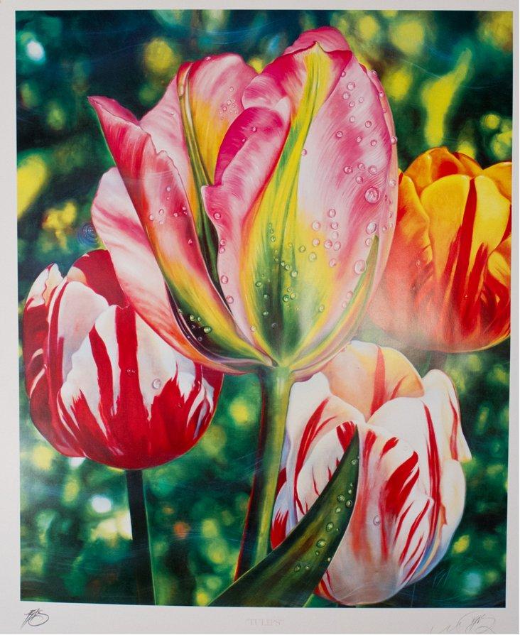 Brett Livingstone-Strong, Tulips