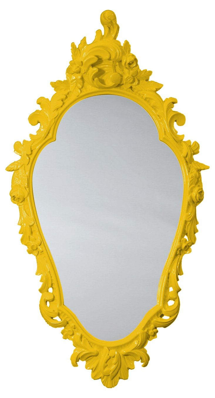 Looking-Glass Mirror, Goldenrod