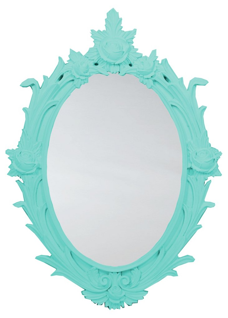 Rose Oval Mirror, Synergy