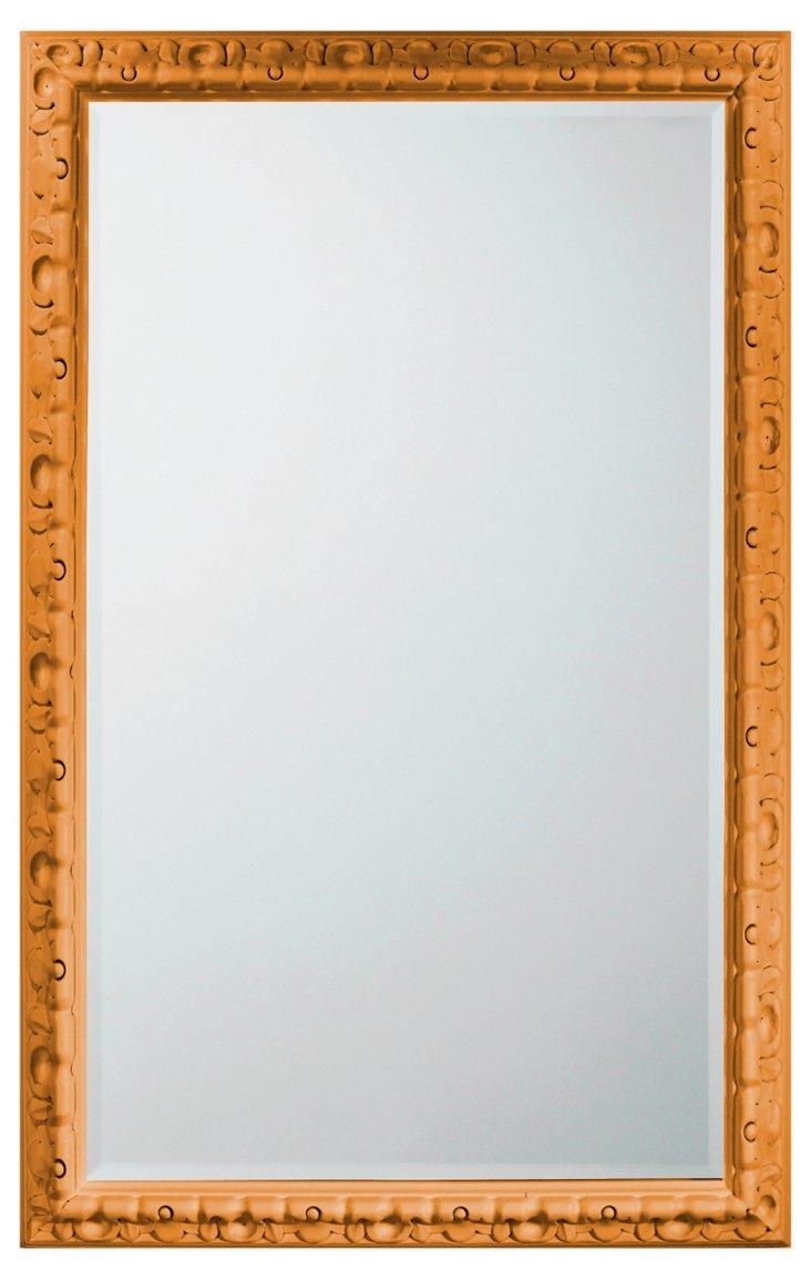 Spanish Carved Mirror, Marigold