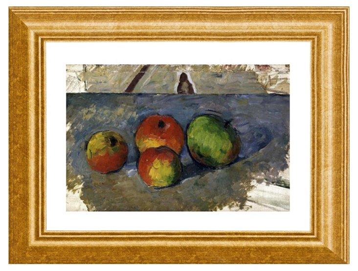 Paul Cézanne, Four Apples