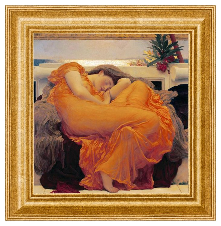 Frederic Lord Leighton, Flaming June