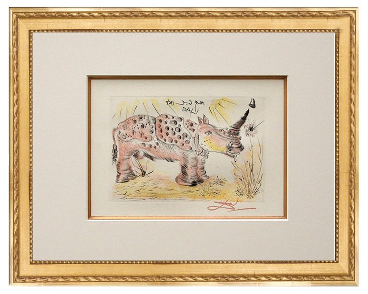 Salvador Dalí, Rhino