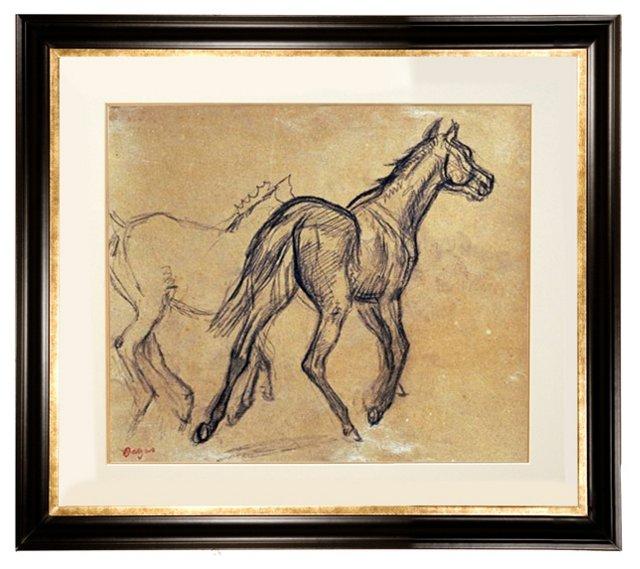Edgar Degas, Horses