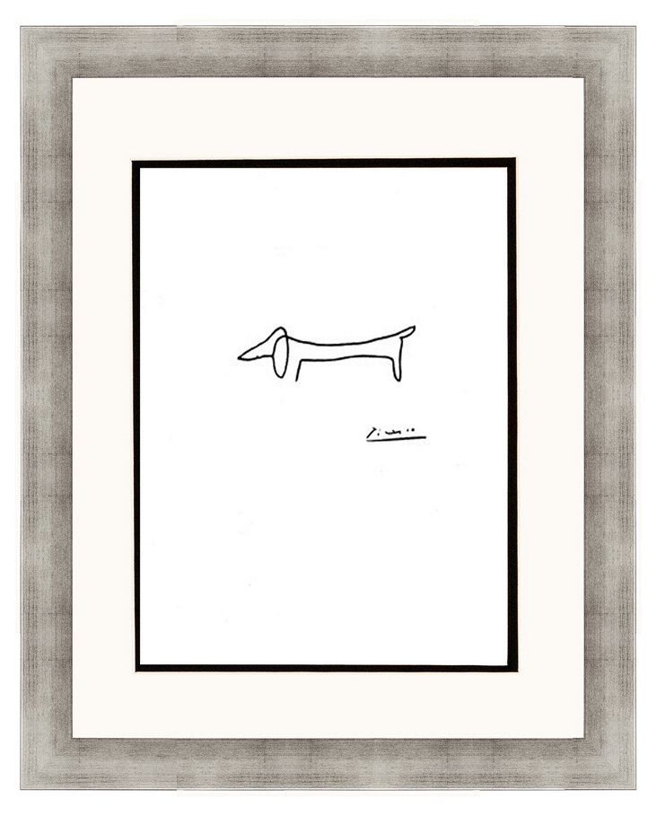 Picasso, The Dog