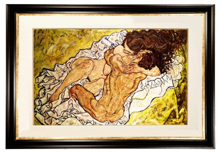 Egon Schiele, The Embrace, 1917