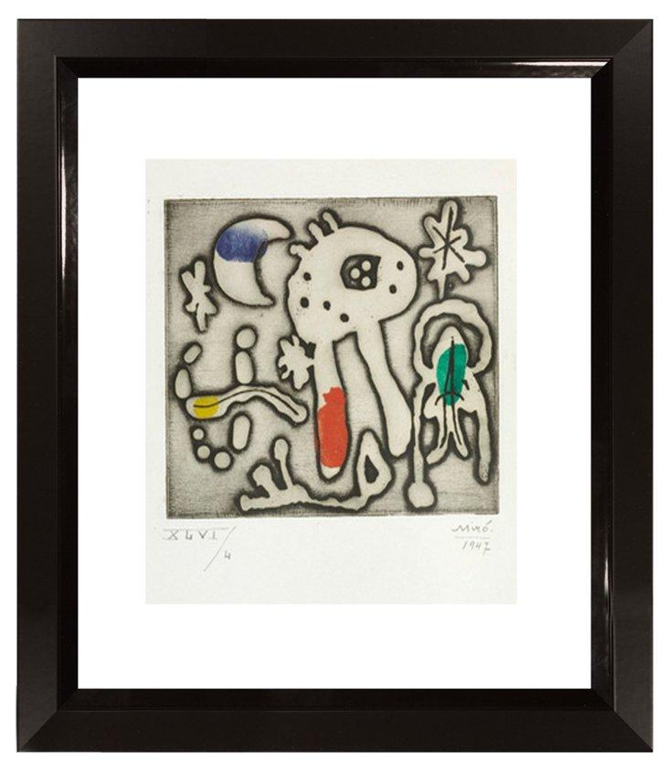 Joán Miró, Composition I, 1947 DNU